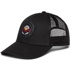Black Diamond Low Profile Trucker Hat, black-black